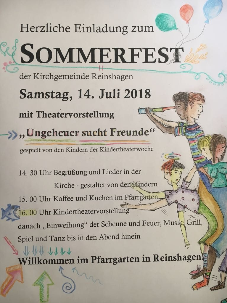 Kindertheaterwoche 2018